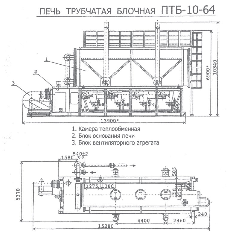Печи птб-10 схема теплообменника регенеративный теплообменник достоин
